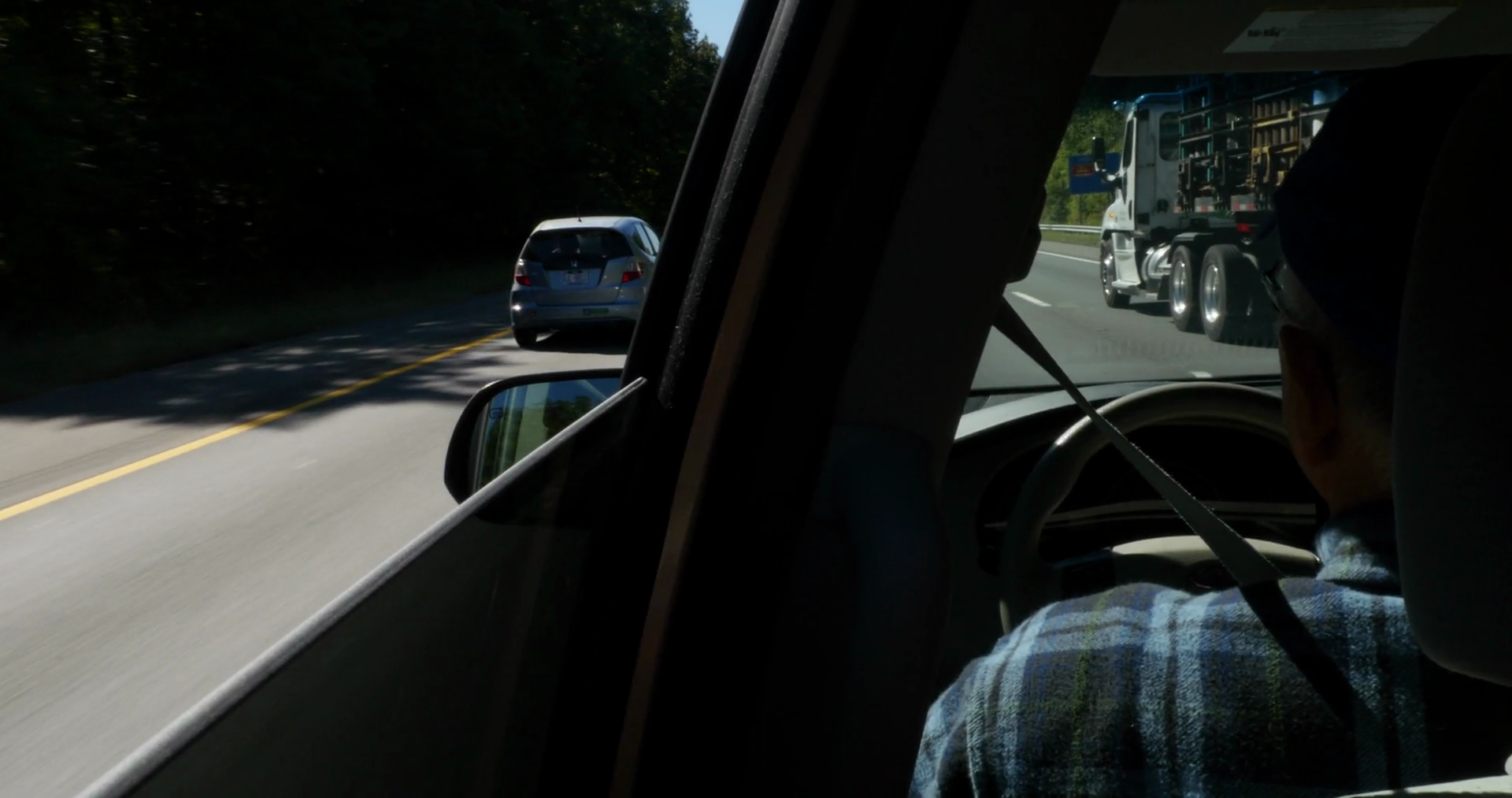 A Kid's View from the Backseat