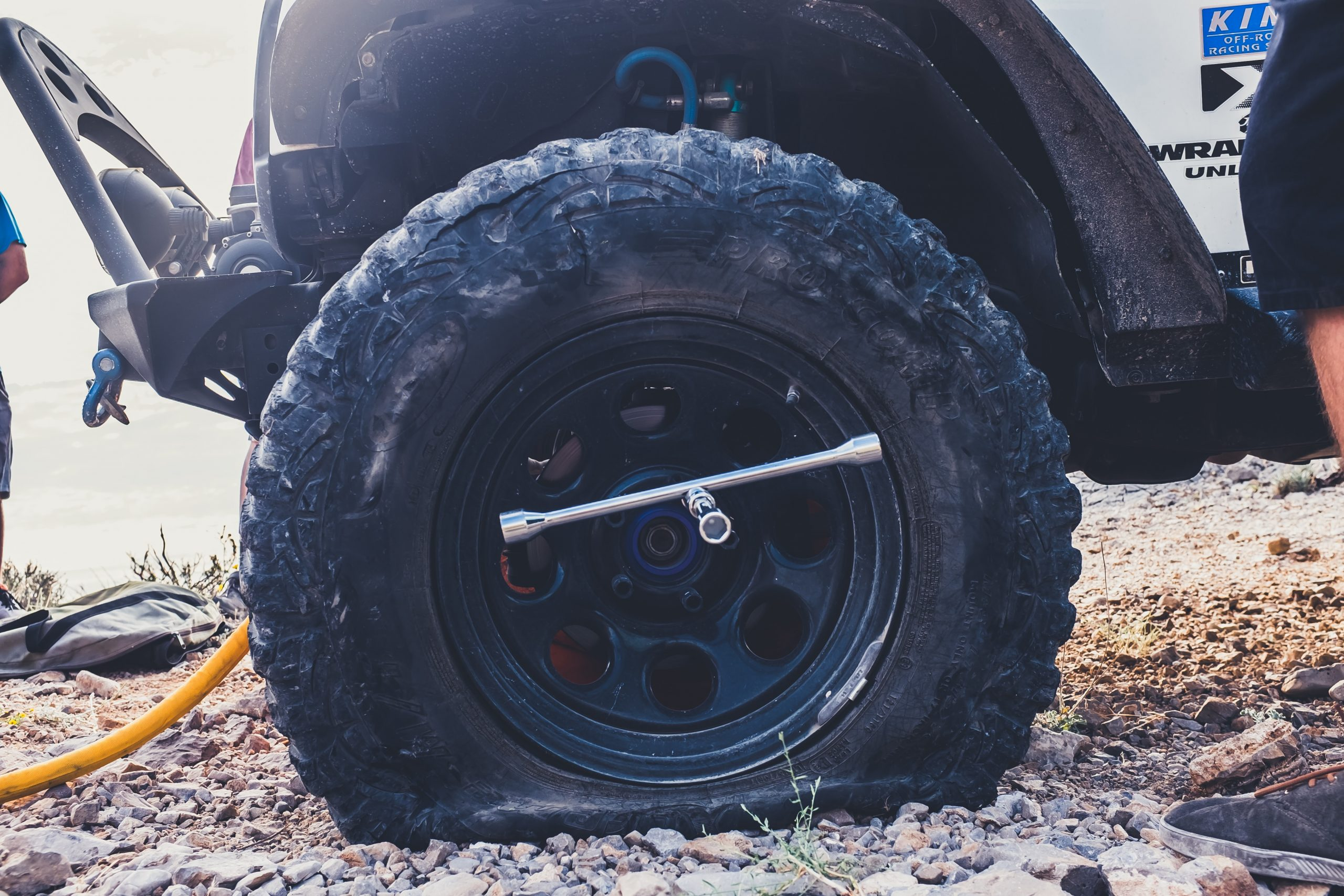 Bound by Love and Flat Tires
