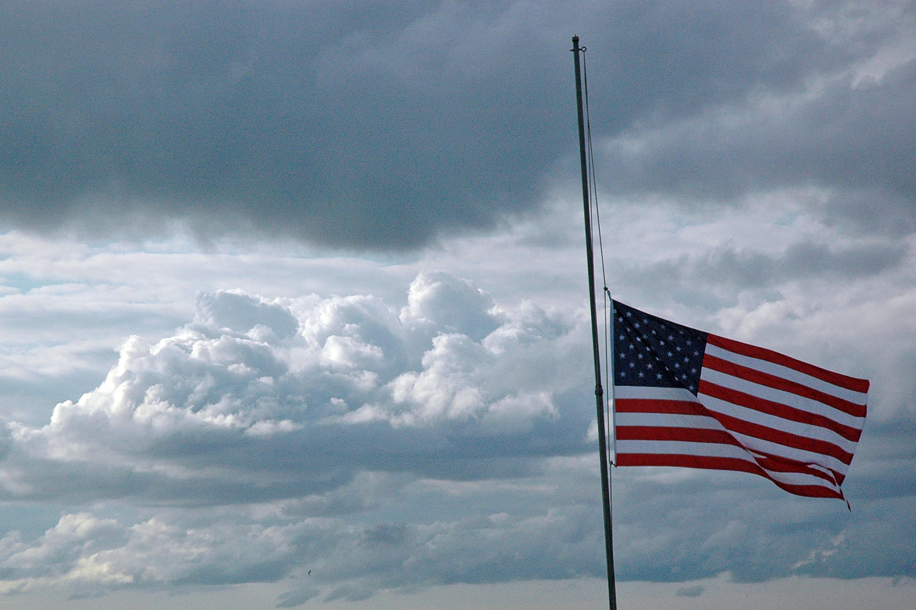When the Banner Remains at Half-Staff